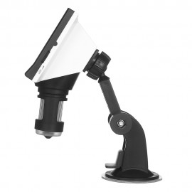 Digital Microscope 4.3-inch 1000X Magnification LCD Microscope Portable Microscope Video Camera Microscope with 8 Adjustable LED Light 4.3